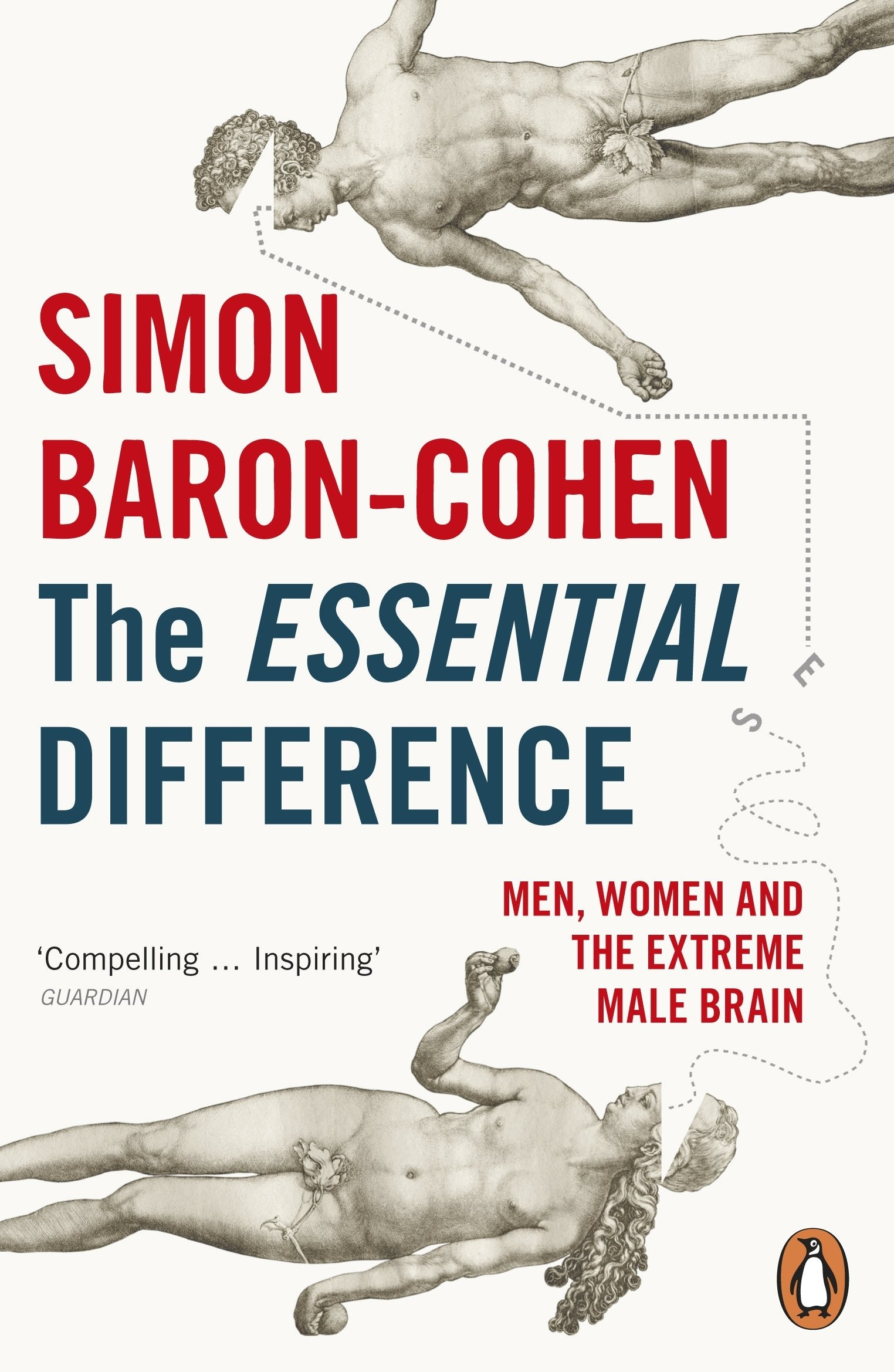 Book cover for The Essential Difference: Men, Women and the Extreme Male Brain