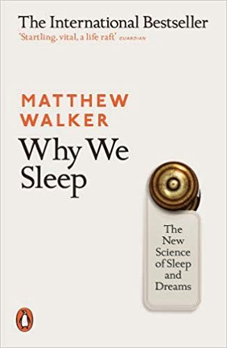 Book cover for Why We Sleep