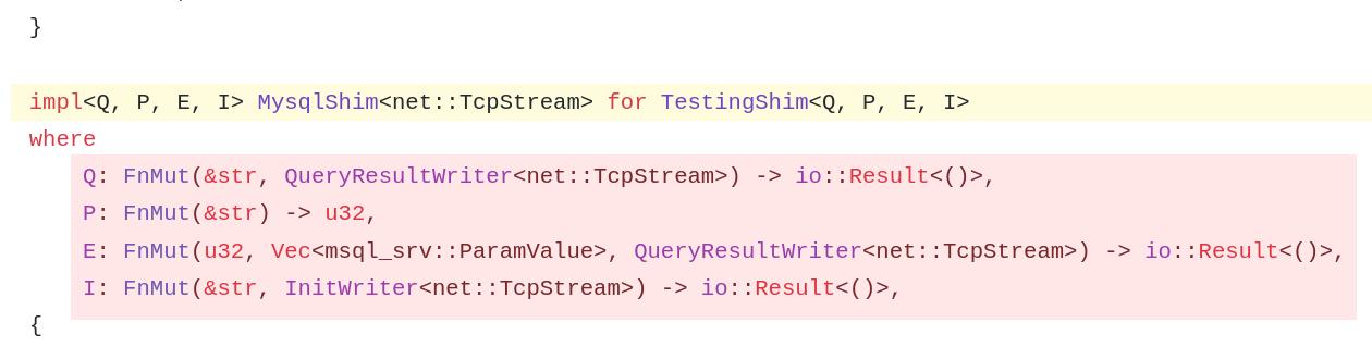 msql-srv example code