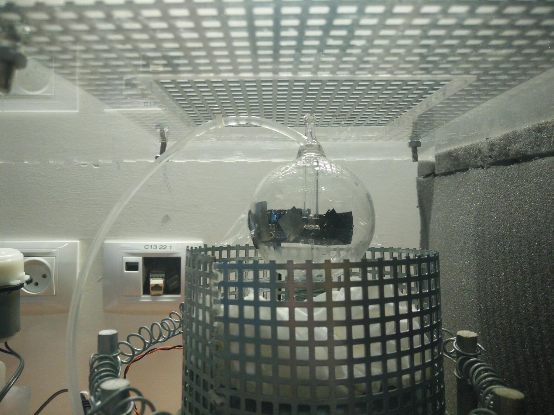 Radiometer closeup