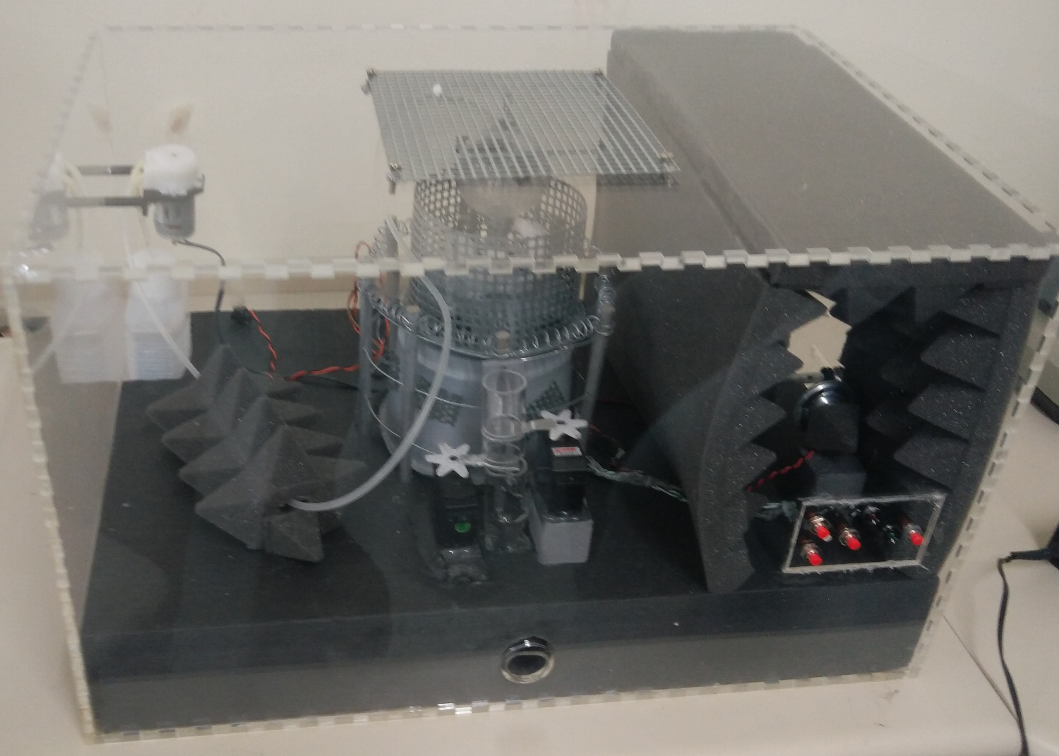 Picture of the safe